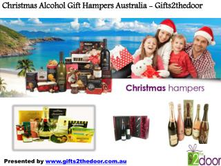 Alcohol Xmas Hampers Australia - Gifts2thedoor
