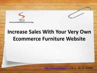 Ecommerce Website Development / Online Furniture Store
