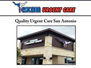 Quality Urgent Care San Antonio