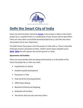 Smart City Delhi iramya.com