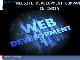 Website Development Company in India: @9278888358