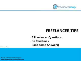 5 Freelancer Questions on Christmas (and some Answers)
