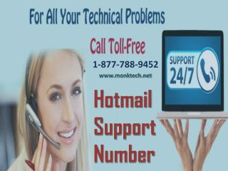 Call Hotmail support number 1-877-788-9452 tollfree to get instant support