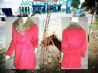 Juicy Couture Clothing outlet