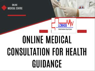 Online Medical Consultation For Health Guidance