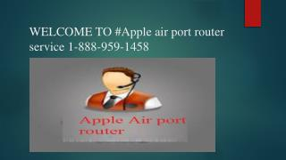 Setting up wireless security on the Apple air port  1-888-959-1458