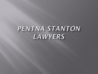 Pentna stanton lawyers