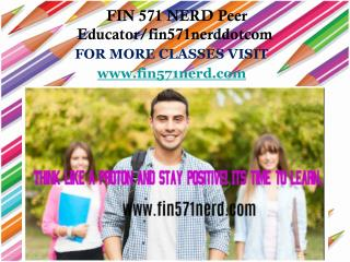 FIN 571 NERD Peer Educator/fin571nerddotcom