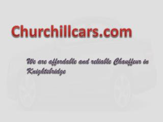 Chauffeur Knightsbridge