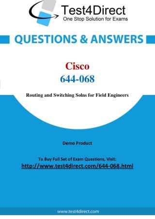 Cisco 644-068 Exam Questions