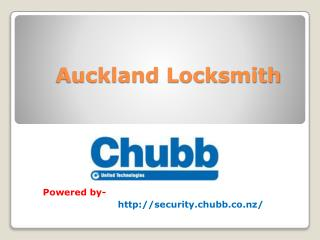 Locksmith in Auckland