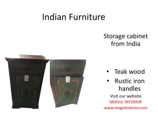 Indian Furniture for Home