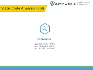 Static Code Analysis Tools Appvigil