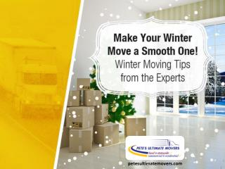 Winter Moving Tips from the Professional Movers in Tampa