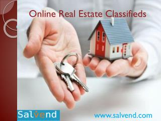Online Real Estate Classifieds