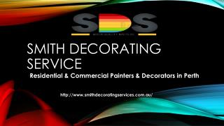 Profesional painters & Decoraters in North Perth