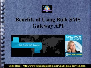 Choose Best SMS Gateway India