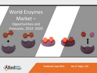 Enzymes Market - Opportunities and Forecasts, 2014 -2020