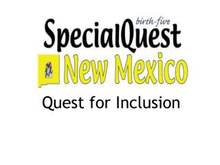 Colorado SpecialQuest Birth-Five Initiative: Public Awareness ...