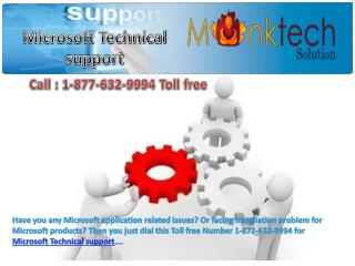 Contact us on Microsoft Technical Support number !!@!! 1-877-632-9994 Toll free
