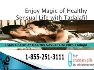 Enjoy Magic of Healthy Sensual Life with Tadalafil