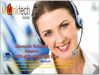 Microsoft Technical Support Number ~@@~ 1-877-632-9994 toll free