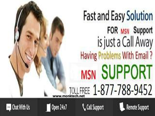 Need instant support for MSN? Call MSN support tollfree 1-877-788-9452 number