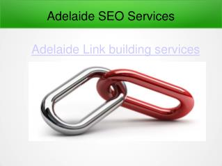 Adelaide SEO Services Link building