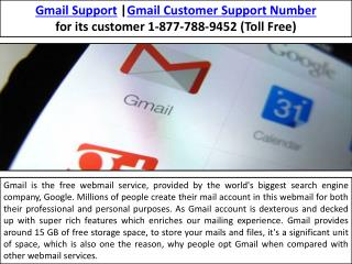 Gmail support live help | 1-877-788-9452(Toll Free)