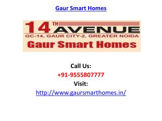 Gaur Smart Homes Noida Extension Project
