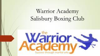 Warrior Academy Salisbury Boxing Club
