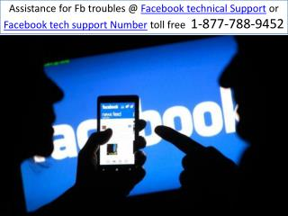 Facebook Tech Support live help | 1-877-788-9452(Toll Free)