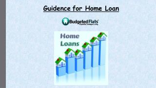 Guidence for home loan while buying property in Pune