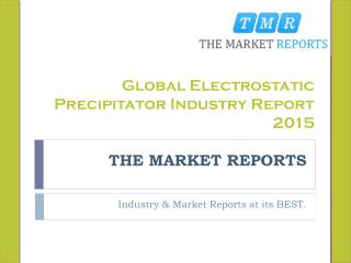 Equipment Suppliers and Price Analysis of Electrostatic Precipitator Market and Research Report