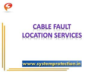 Cable Fault Repairing Services Providers India