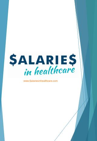 Healthcare Professionals Are You Paid Enough?