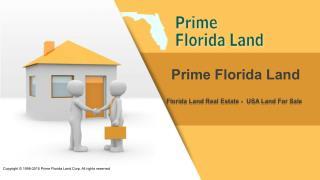 Florida Land Real Estate - Florida Land Area