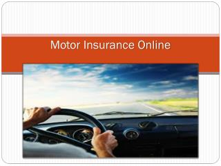 Everything you need to know about Motor Insurance in India