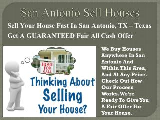 Real Estate Company San Antonio Sell Houses