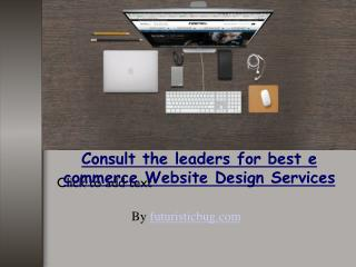 Aspects of a professional e commerce website design services