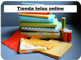Tienda telas online