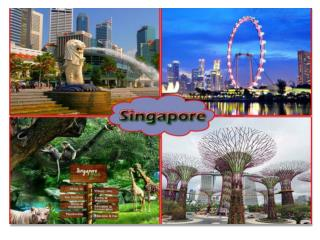 Wonderful travelling places in the world