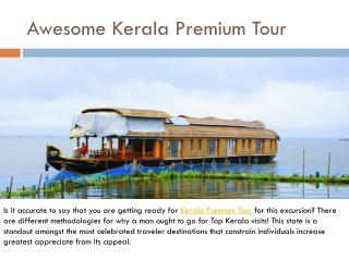 Awesome Kerala Premium Tour
