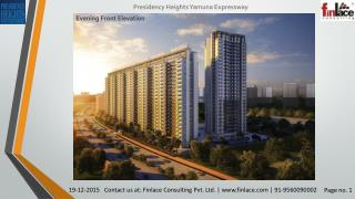 Presidency Heights, Yamuna Expressway Greater Noida