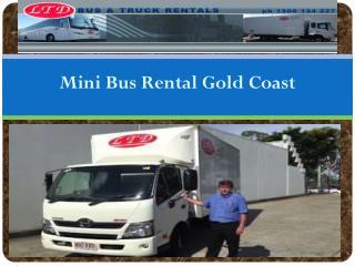Minibus Hire Gold Coast