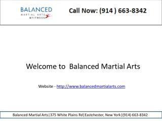 Kids martial arts balanced martial arts