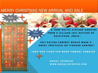 Merry Christmas New Arrival and Sale