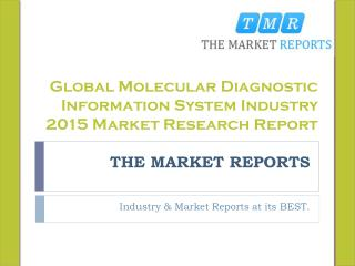 Global Molecular Diagnostic Information System Market Forecast to 2021, Competitive Landscape Analysis and Key Companies