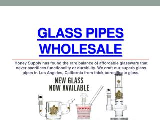 Honey Supply Glass Wholesale