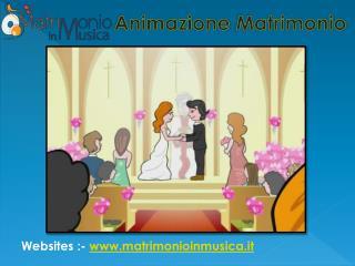 Bellissimo Animato Matrimonio Video